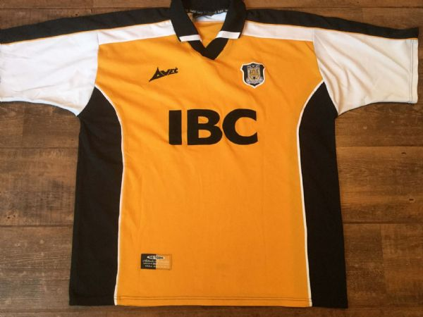 2000 2001 Hull City Home Football Shirt Adults Large